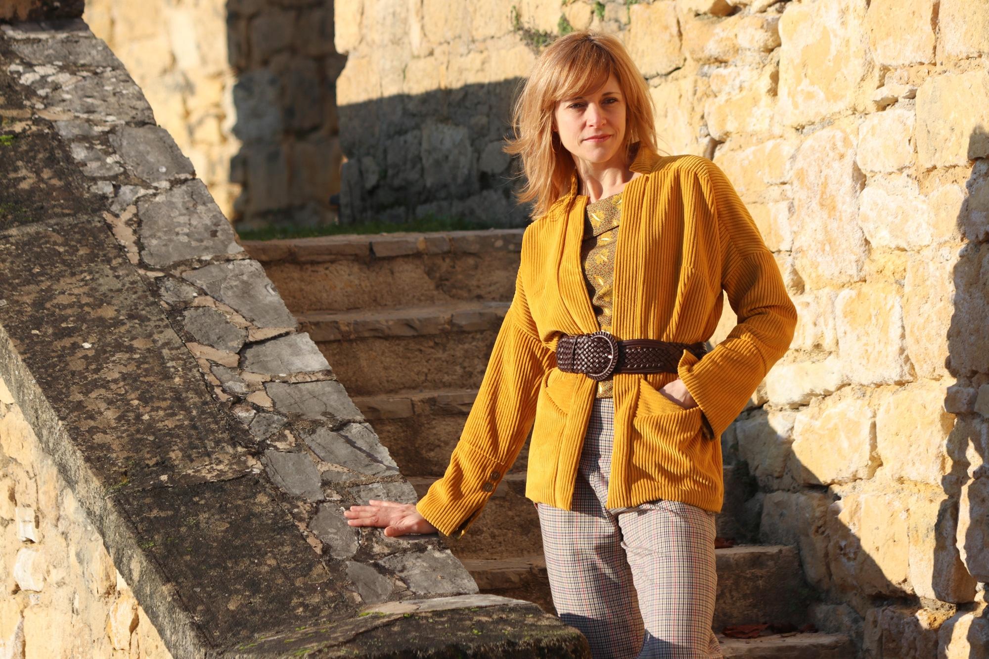 Patron de couture veste melhia, sewing soon, version B