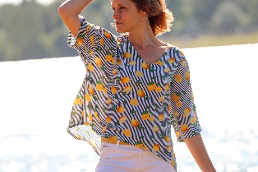 Patron de couture top enjoy, sewing soon, patron gratuit